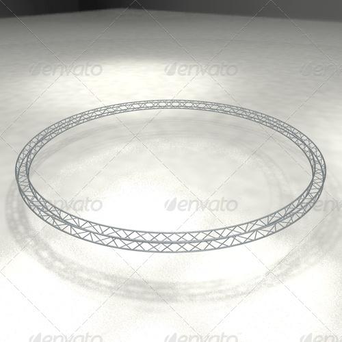 3DOcean truss quattro round 139110