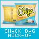 Snack Bag Mockup-Graphicriver中文最全的素材分享平台