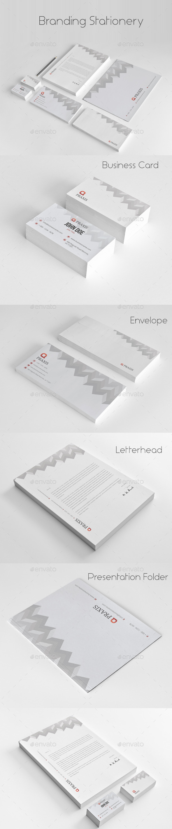 GraphicRiver Branding Stationery 11258209