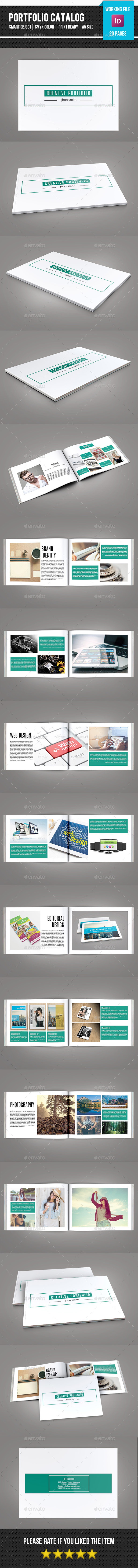 GraphicRiver Portfolio Catalog Brochure-V164 11258297