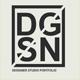 DGSN Graphic Designer Portfolio Presentation - GraphicRiver Item for Sale
