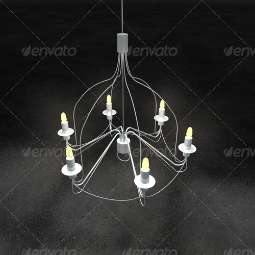 chandelier IKEA - 3DOcean Item for Sale