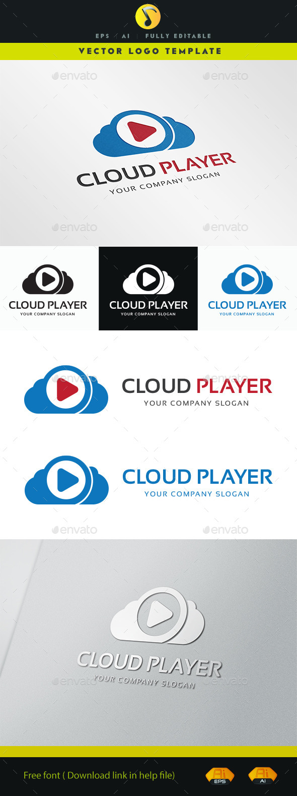 GraphicRiver Cloud Player 11258313