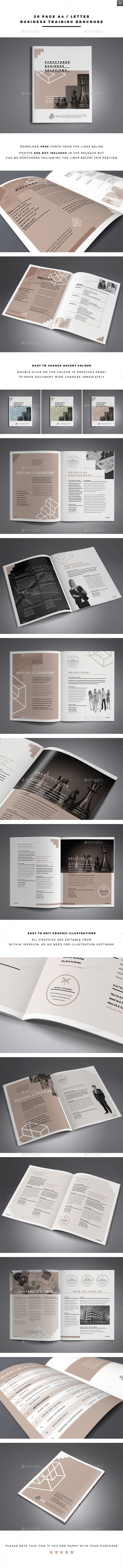 GraphicRiver Business Training Brochure 11258367