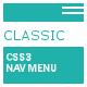 Classic CSS3 Nav Menu - CodeCanyon Item for Sale