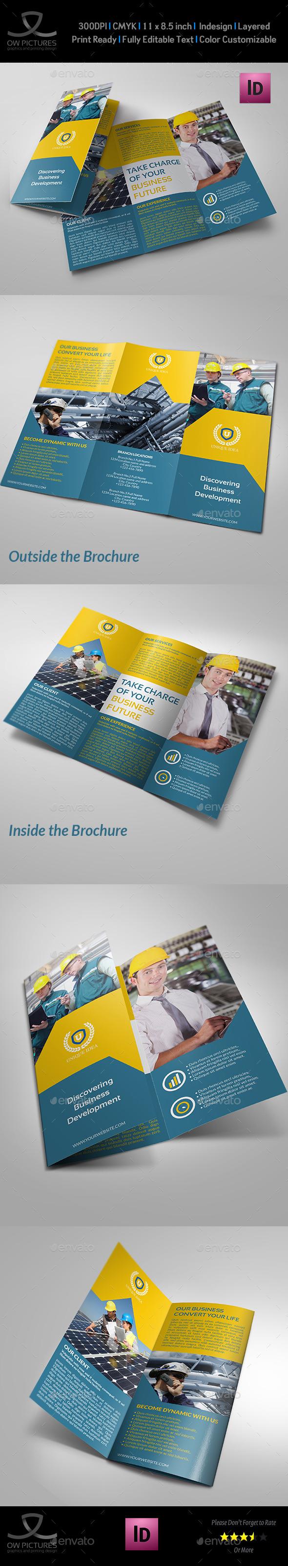 GraphicRiver Company Brochure Tri-Fold Brochure Vol.21 11258422