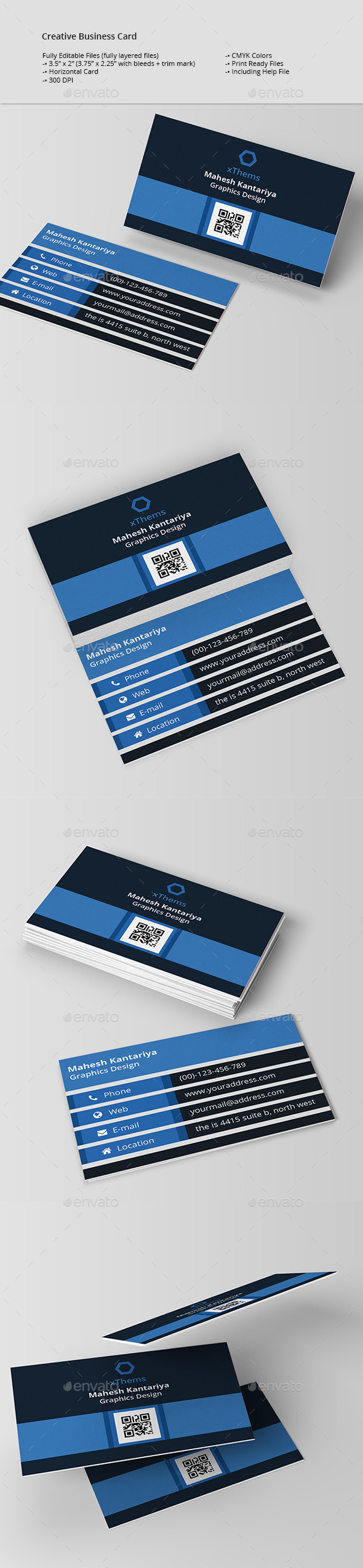 GraphicRiver Simply Business Card 11258537