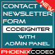 CodeIgniter Secure Contact and Newsletter Form - CodeCanyon Item for Sale
