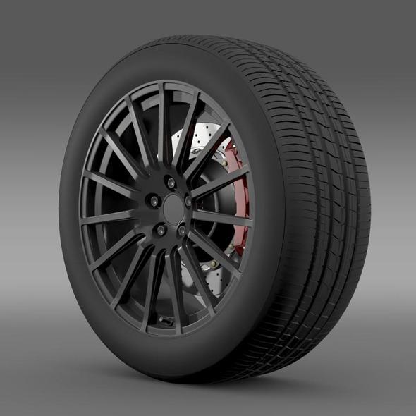 3DOcean Subaru BRZ STI wheel 11258555
