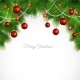 Vector Merry Christmas Greeting Card - GraphicRiver Item for Sale