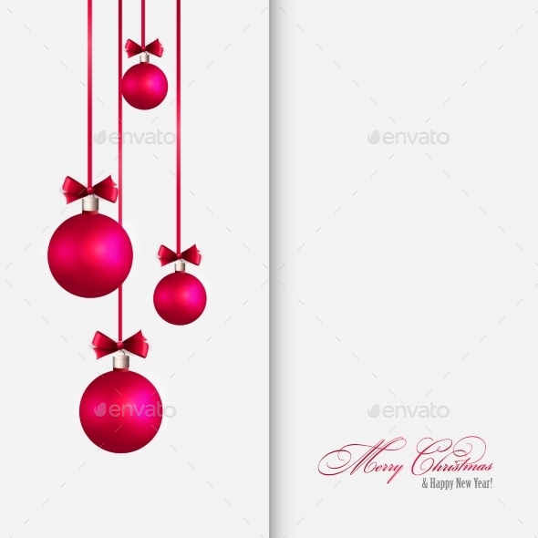 GraphicRiver Vector Merry Christmas Greeting Card 11258612