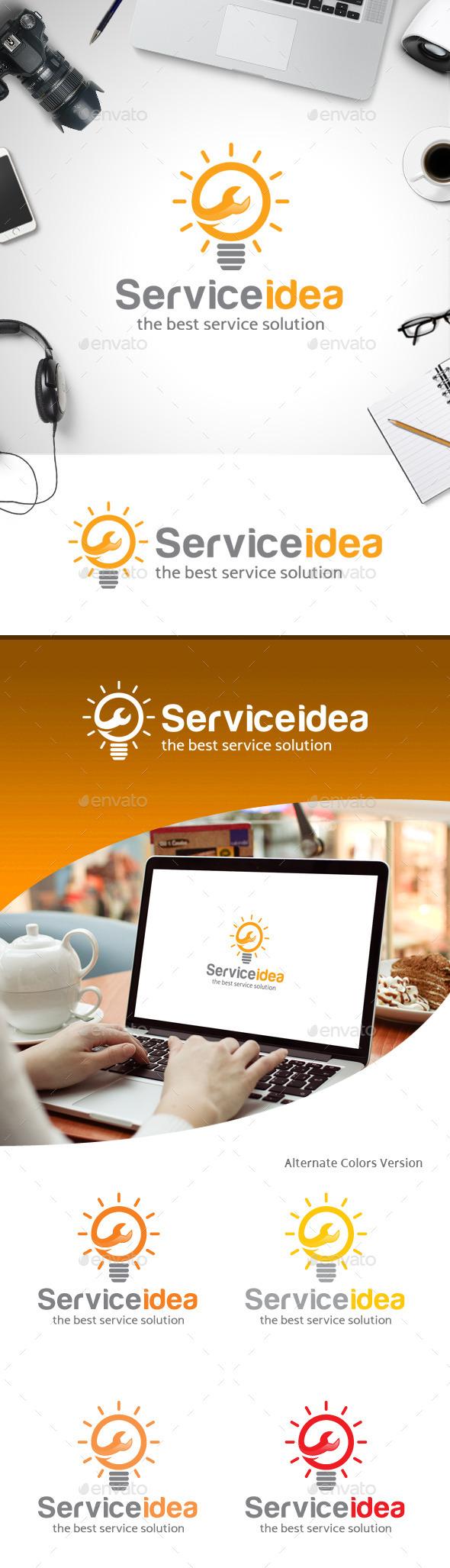GraphicRiver Service Idea Logo 11258741