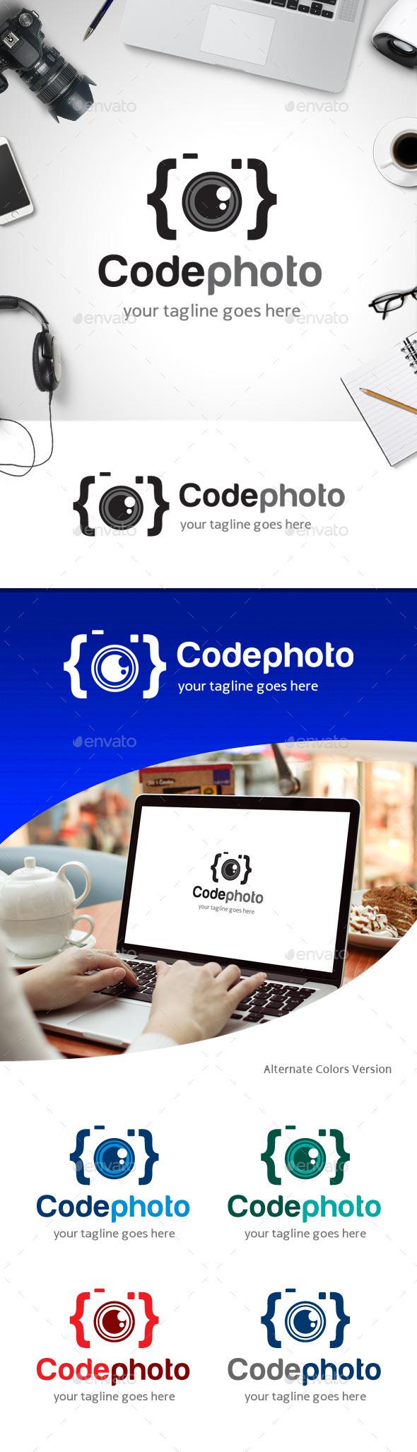 GraphicRiver Code Photo Logo 11258837