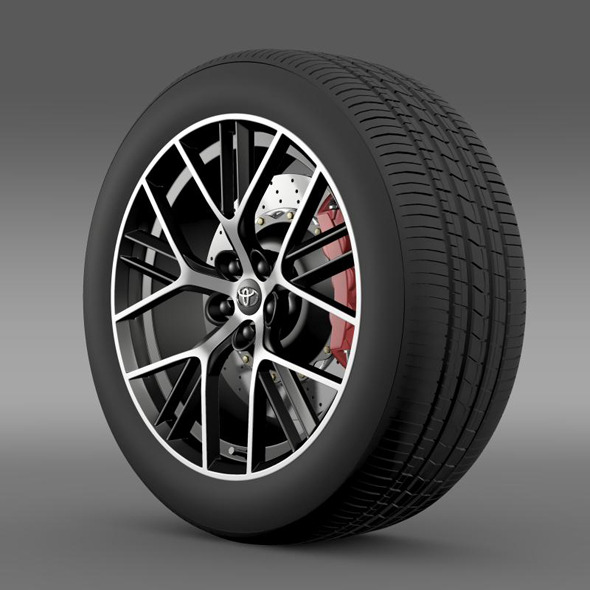 3DOcean Toyota GT 86 concept wheel 11258838