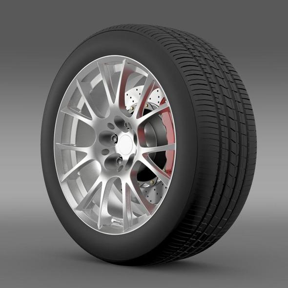 3DOcean Toyota GT 86 GRMN wheel 11258957