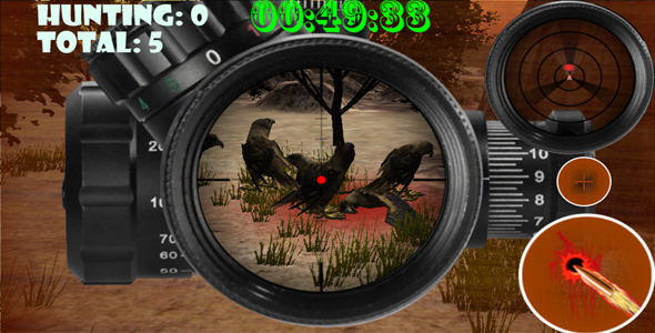 CodeCanyon Sniper Birds Hunting Rampage 11201589