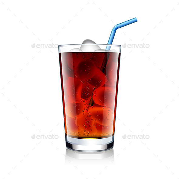 GraphicRiver Soda Glass with Ice 11259096