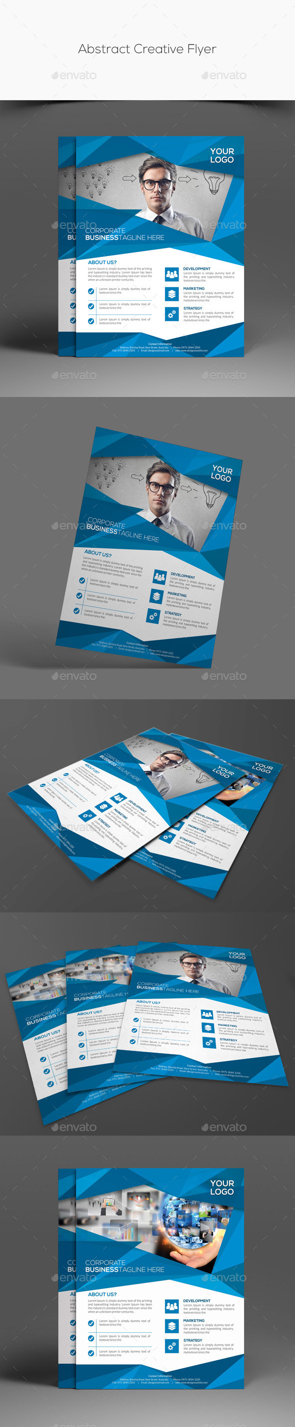 GraphicRiver Abstract Creative Flyer 11259199