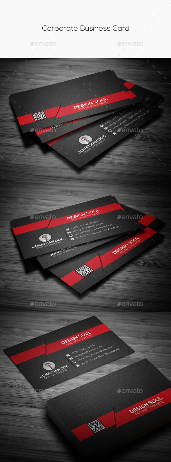 GraphicRiver Corporate Business Card 11259260