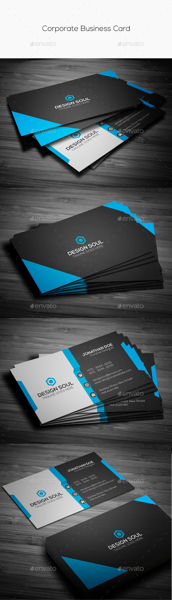 GraphicRiver Corporate Business Card 11259317