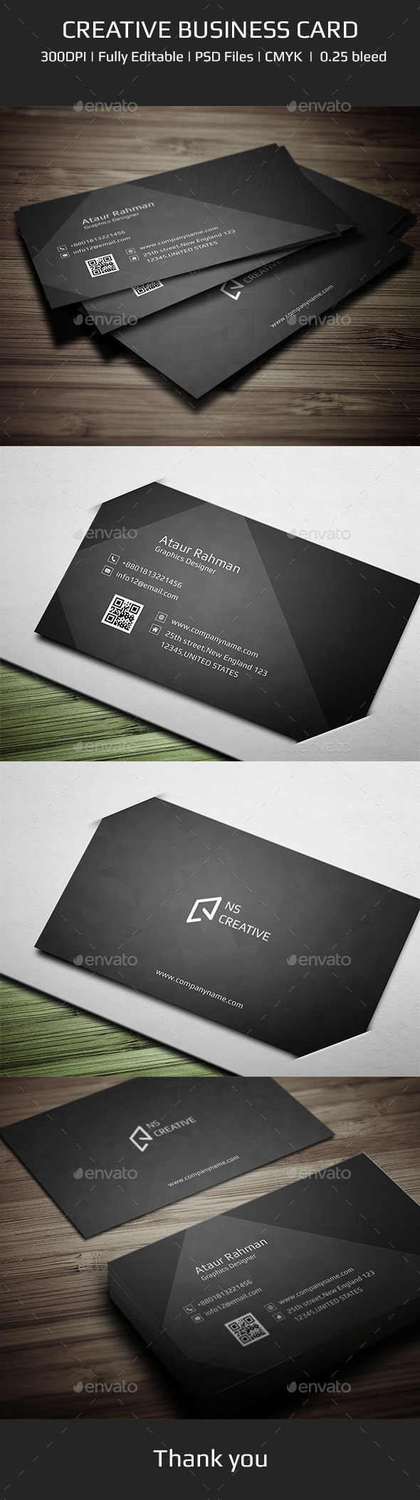 GraphicRiver Creative Business Card V1 11259579