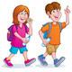 Teens Taking A Hike