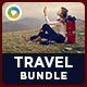Travel Banners Bundle - 4 Sets - GraphicRiver Item for Sale