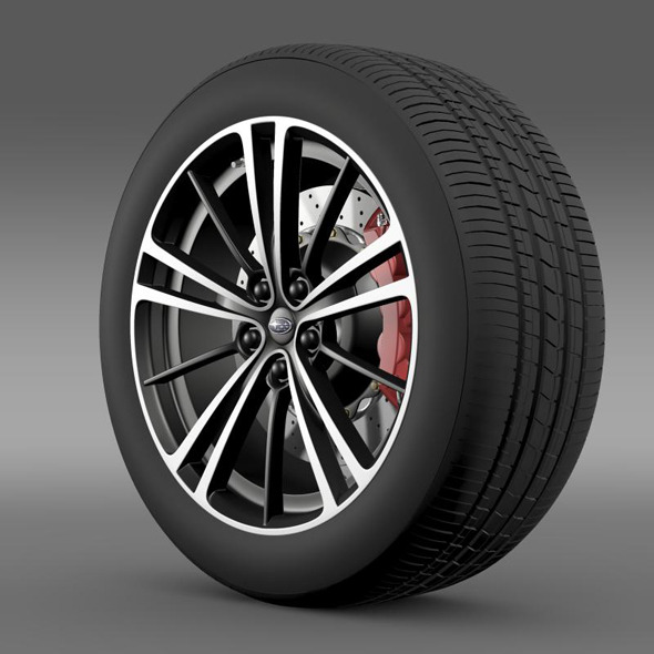 3DOcean Subaru BRZ wheel 2013 11260019