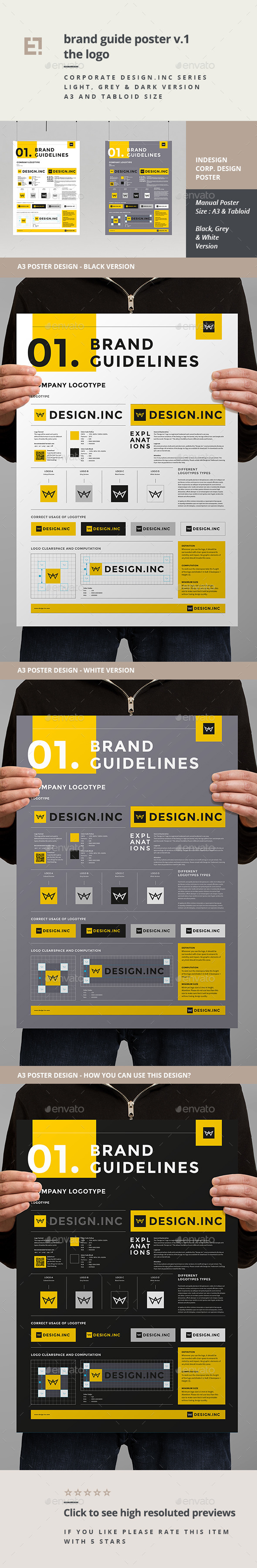 GraphicRiver Brand Manual Template One 11260210