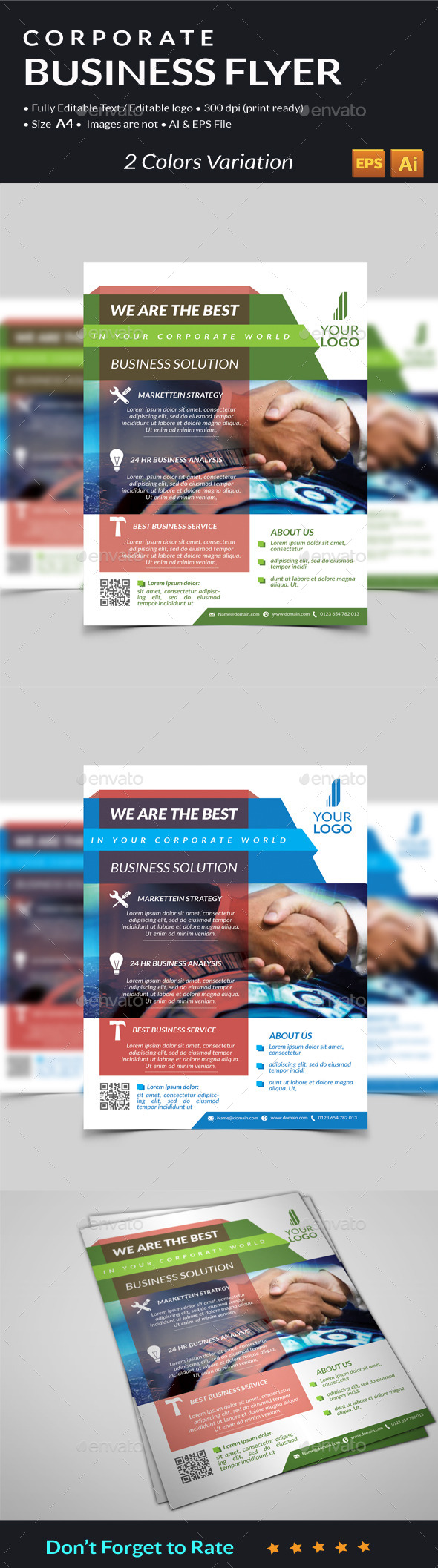 GraphicRiver Corporate Business Flyer 11260222