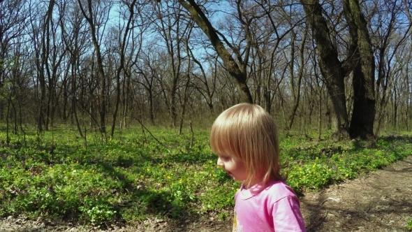 Walk In Forest Girls