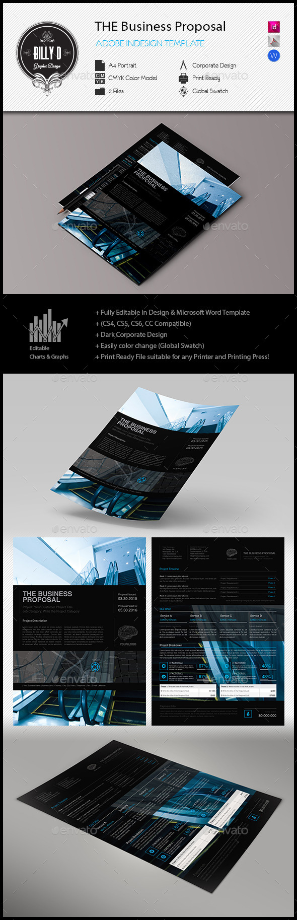 GraphicRiver The Business Proposal 11260639