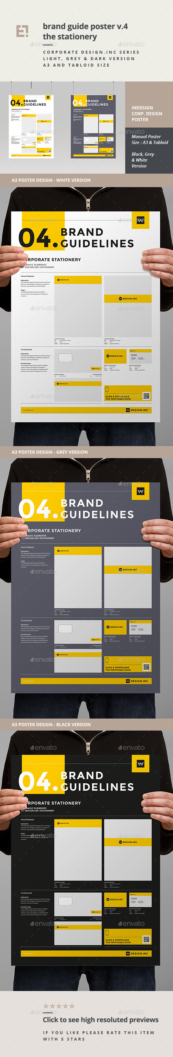 GraphicRiver Brand Manual Template 4 Stationery 11260640