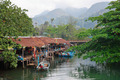 Fishing village on the island in Southeast Asia - PhotoDune Item for Sale