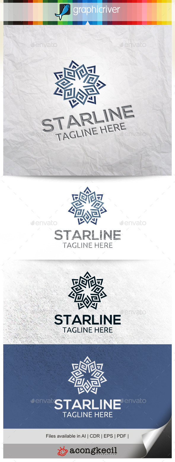 GraphicRiver Star Flower V.4 11261156