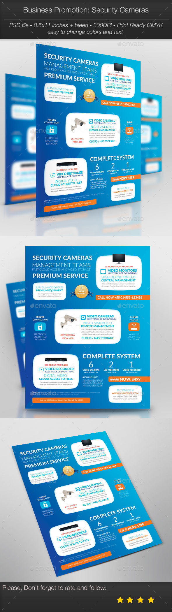 GraphicRiver Business Promotion Security Cameras 11261166