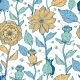 Vector Whimsical Flower Garden Seamless Pattern - GraphicRiver Item for Sale
