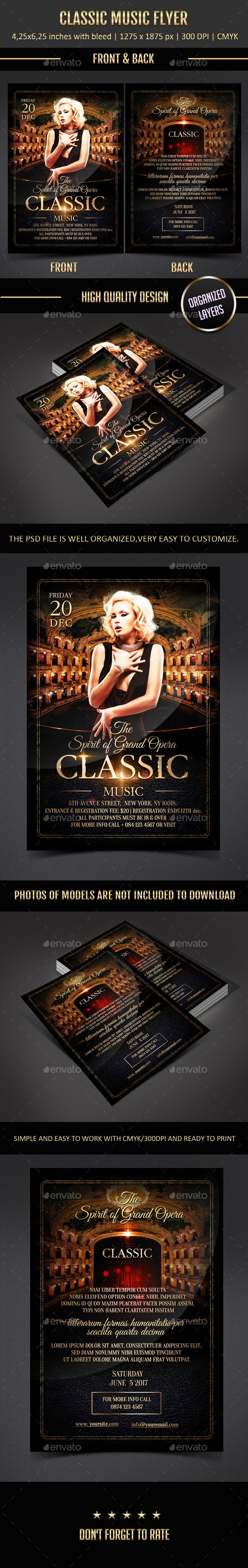 GraphicRiver Classic Music Flyer 11261224