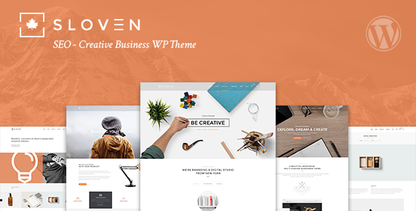 ThemeForest Sloven SEO Creative Business WP Theme 11114777