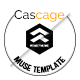 Cascage - Creative agency Muse Template - ThemeForest Item for Sale