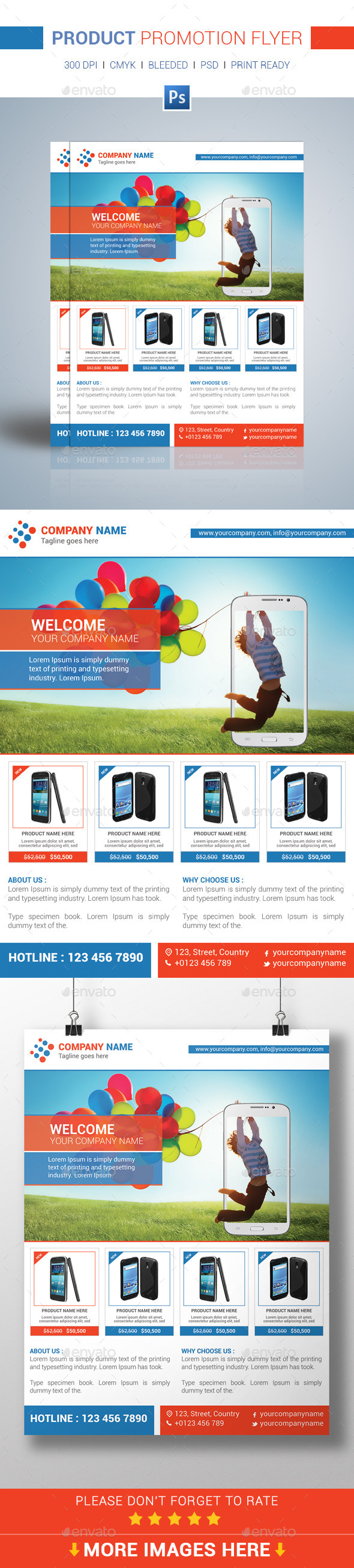GraphicRiver Product Promotion Flyer Template 11261922