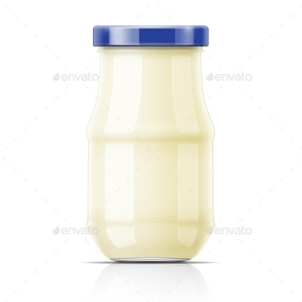 GraphicRiver Nayonnaise In Glass Jar 11261956