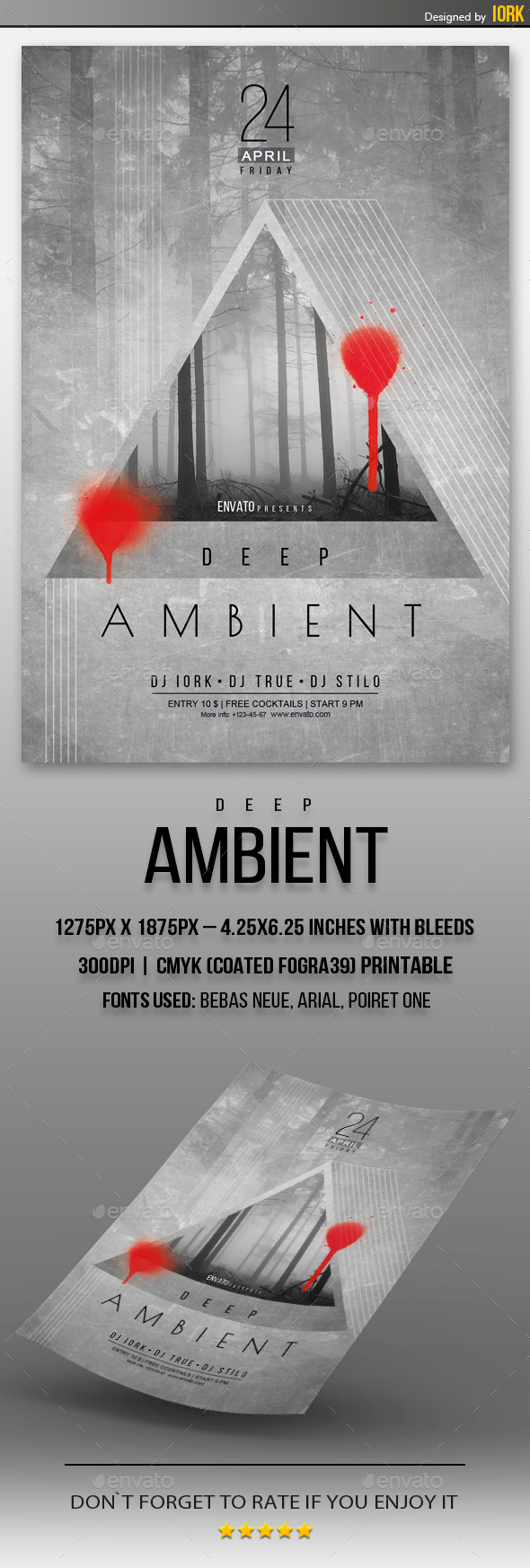 GraphicRiver Deep Ambient Flyer 11262294