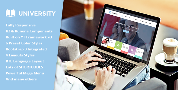 ThemeForest University II Multipurpose Education Template 11262557