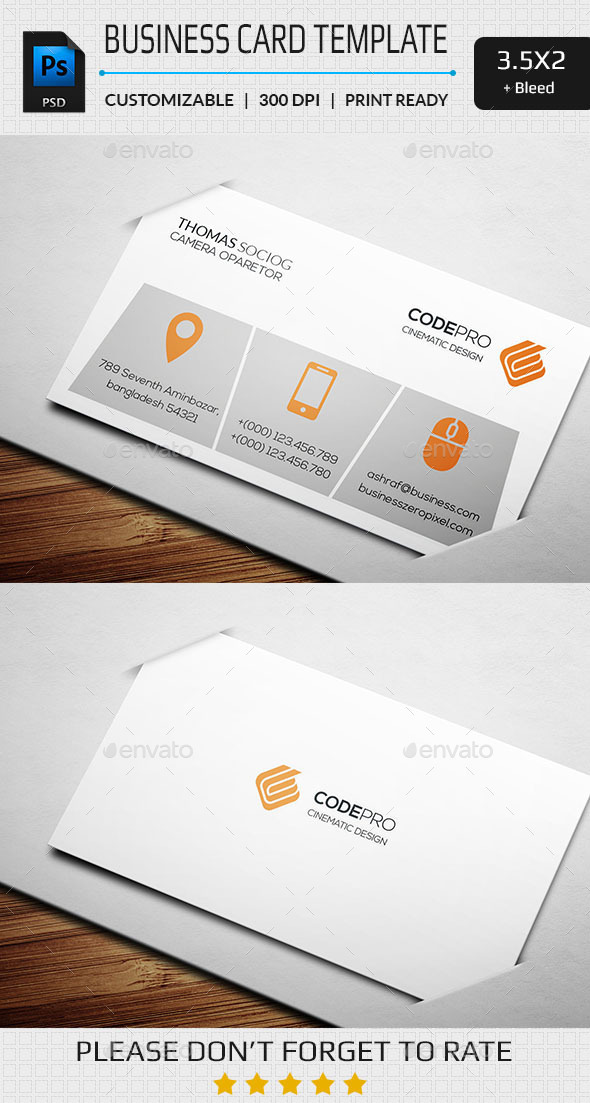 GraphicRiver Simply Business Card 11262854
