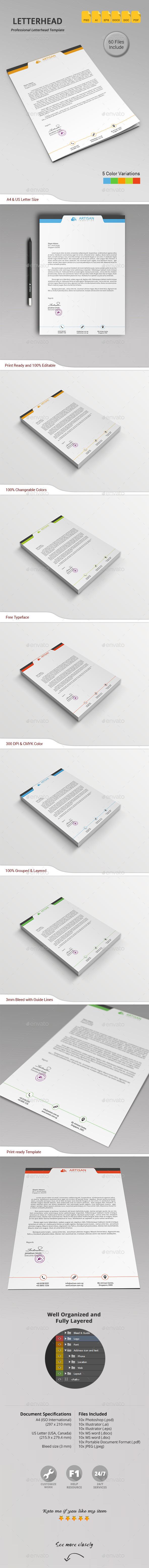 GraphicRiver Letterhead 11262870