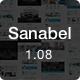 Sanabel | Responsive Multi-Purpose Theme - ThemeForest Item for Sale