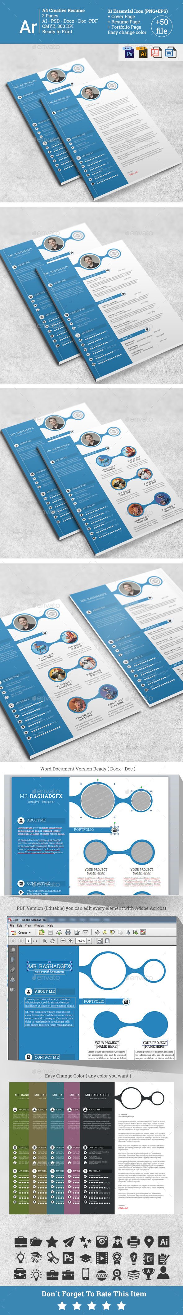 GraphicRiver Creative Resume 11262918