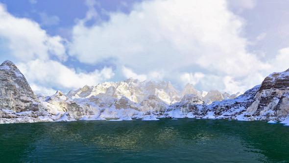 High Mountain Lake