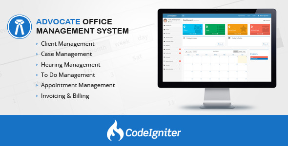 Download Advocate Office Management System v1.3 nulled download